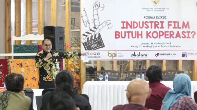 Koperasi Cocok untuk Wadah Industri Film Indonesia