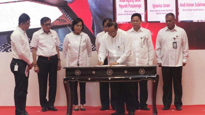 Enam Kementerian Sepakat Kerja Sama Bidang Beneficial Ownership untuk Cegah Korupsi