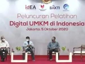Peluncuran Pelatihan Digital UMKM oleh Kemenkominfo dan Asosiasi E-Commerce